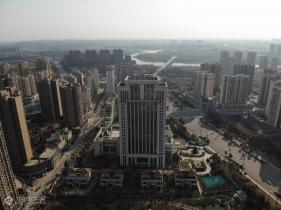 航拍视觉俯瞰资阳城东新区,看到你家了没?