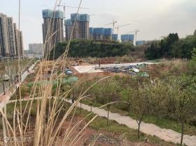 资阳万达背后的幸福博文九义校终于开建啦!今天路过给大家带来现场照片