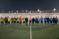 雁江区首届八人制足球赛接近尾声,兄弟连稳居第一。