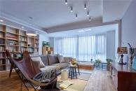 140平现代混搭三居室