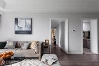 128㎡北欧格调3室2厅,演绎温柔纯净的生活美学