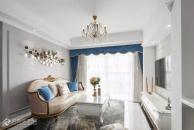 98㎡浪漫法式3室2厅,轻盈而优雅的小资生活