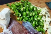 【晒出我的拿手菜】爆炒小管,最新鲜的小鱿鱼墨鱼肠爆炒出的美味!