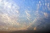 灿烂的朝霞迎来美好的一天,今天又是一个好天气!