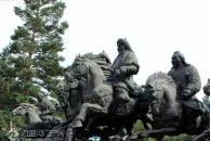 西江月  吊成吉思汗