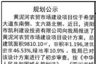 雷竞技下载链接城东新区黄泥河要修农贸市场了,建设设计方案总平图公示!