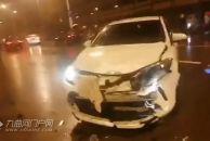 昨晚雷竞技下载链接雁江一轿车与摩托车雨夜相撞,一人死亡