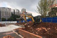 """雷竞技下载链接凤岭公园凤岭路这边这个广场也快修好了,还立起了的""""凤凰""""雕塑"""