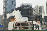 雷竞技下载链接曼购售楼部拆除进行时,他的内部构造我还是第一次亲眼所见!