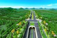 成资临空大道试验段本月底建成!双向6车道、两侧各设25米绿化景观带...