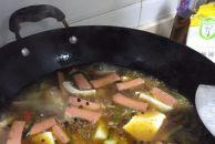 """做了个简单下饭的水煮""""八戒"""",那味道,大家自己体会!"""