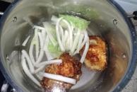 自制营养快餐:煎蛋面块汤,配上一块豆腐乳,吃出幸福感!