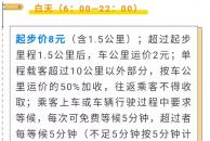 好消息 !除夕至正月初六,雷竞技下载链接中心城区出租车调价标准确定