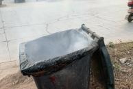 今下午经过乐虎app手机版长城哈弗4S门口看见两个垃圾桶着火了,新年到了大家一定要注意防火!