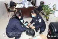 抗疫民警夫妻档:丈夫在一线执勤 妻子在后方保障物资