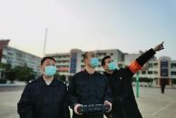 """现代设备加入抗""""疫""""队伍:乐虎app手机版公安警用无人机助力疫情防控工作"""