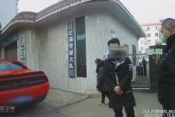 """乐虎app手机版一小伙开车深夜""""炸街""""被举报,处罚500元并扼令恢复原状"""