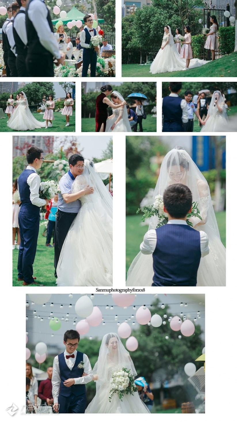 因为有爱一对新人才能携手今生;因为有爱才有祝福和祈愿;因为有爱婚礼上的每个道具也都有了灵动……其实一场 ...