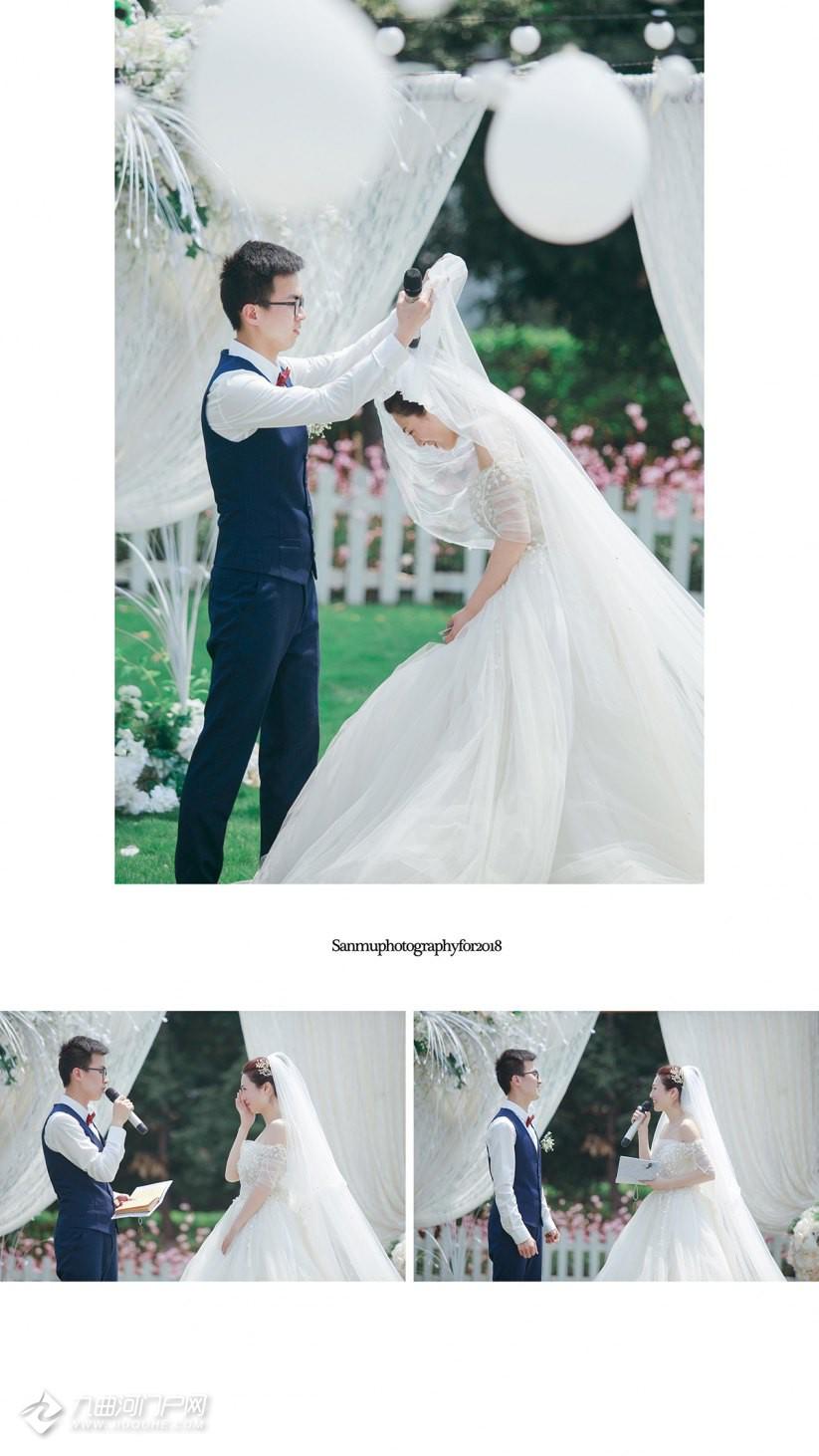 我想拥有的那一席浪漫用白色画笔画出我们的婚礼