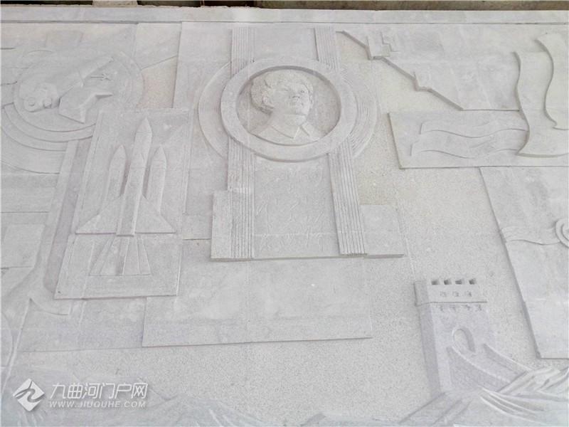 """沱三桥大型浮雕""""沉淀文化底蕴  弘扬民族精神""""近日落成"""