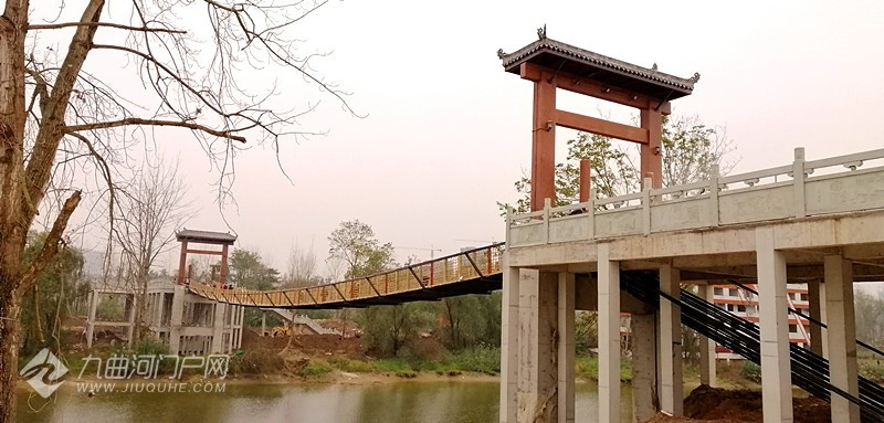 (后续报道)资阳沱江岛索桥建成并初步通行,工程正进入收尾阶段(图片\视频) ... ... ...