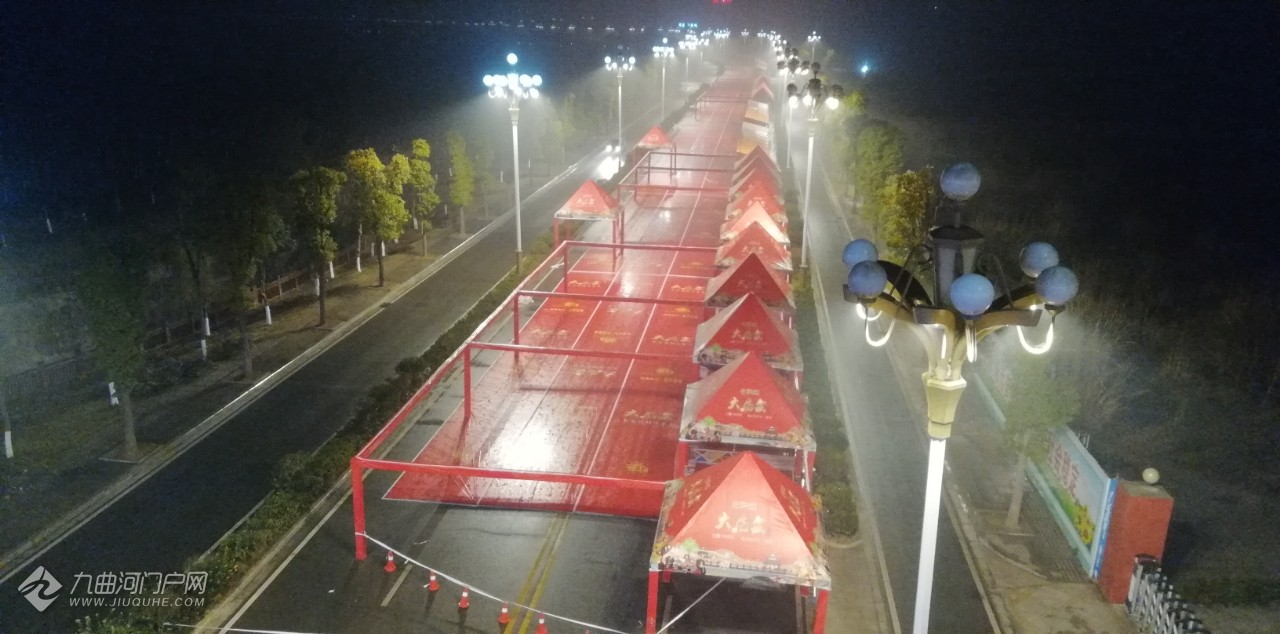 资阳大庙会即将到来,淡定哥在桥上给大家带来现场布置的效果给大家欣赏! ...