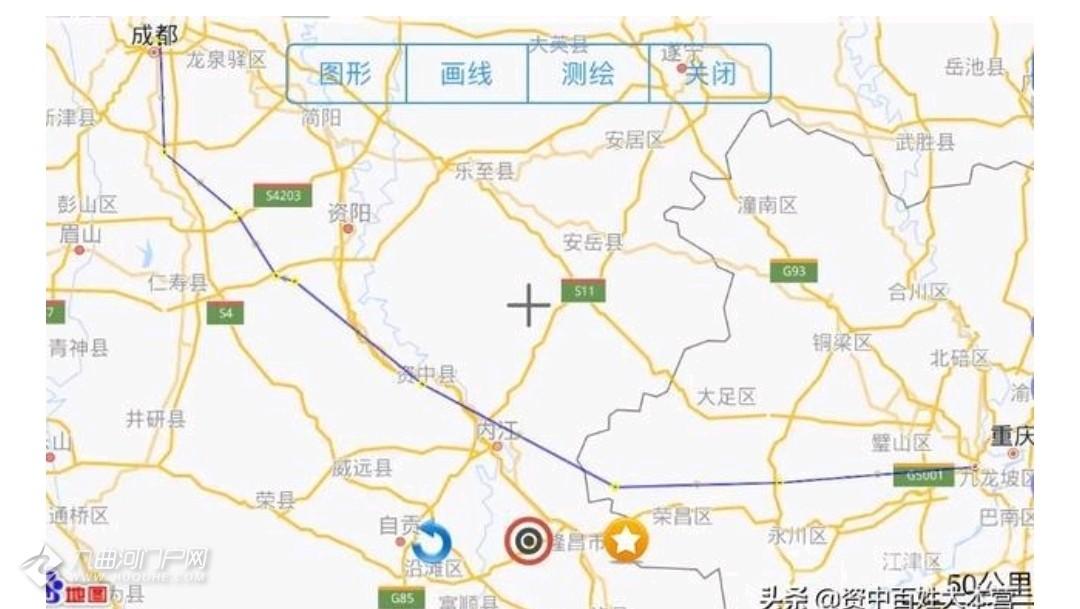 内江资中要准备修一下快速通道到成都,连接红星路,您怎么看?