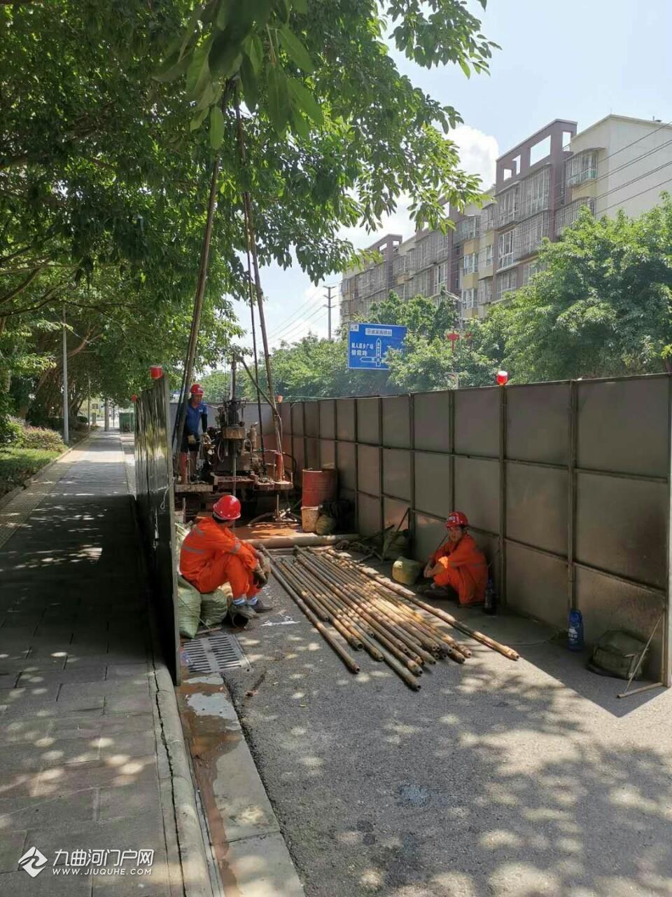 为城市轨道交通资阳线开工做准备,中铁二院地勘大队在开展前期工作