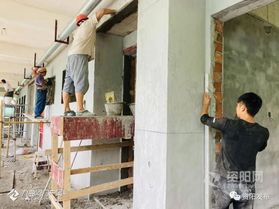 下周开始,资阳幸福博文九义校开始招生,还有最新修建情况...