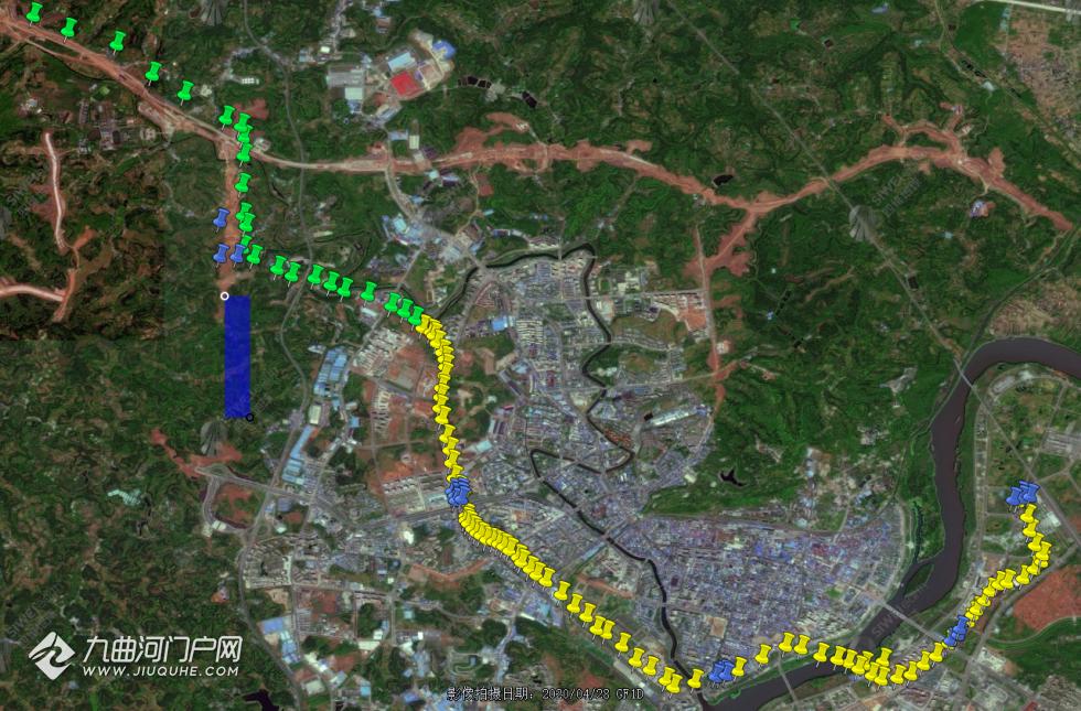 资阳线勘探线路和站点分析