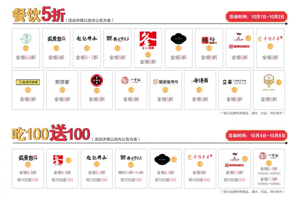 首发福利抢先看!10.01资阳曼购中心嗨购攻略一键收藏!