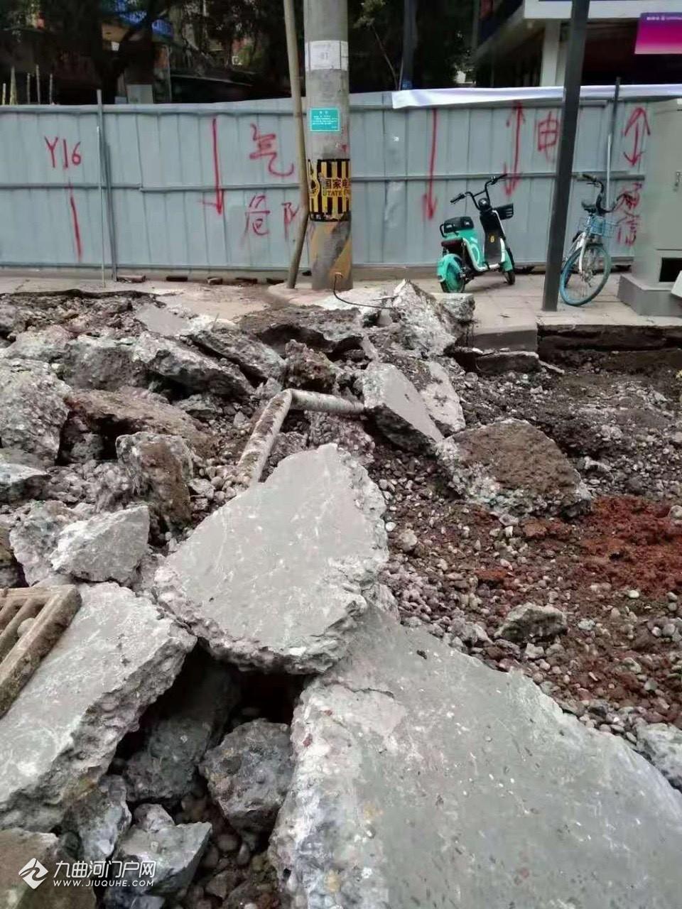 贵州建工又挖断电缆了,资阳上西街、建设西路等大面积停电!