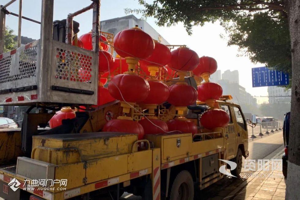 照亮你的美!2021年资阳市城区春节亮化工程启动!