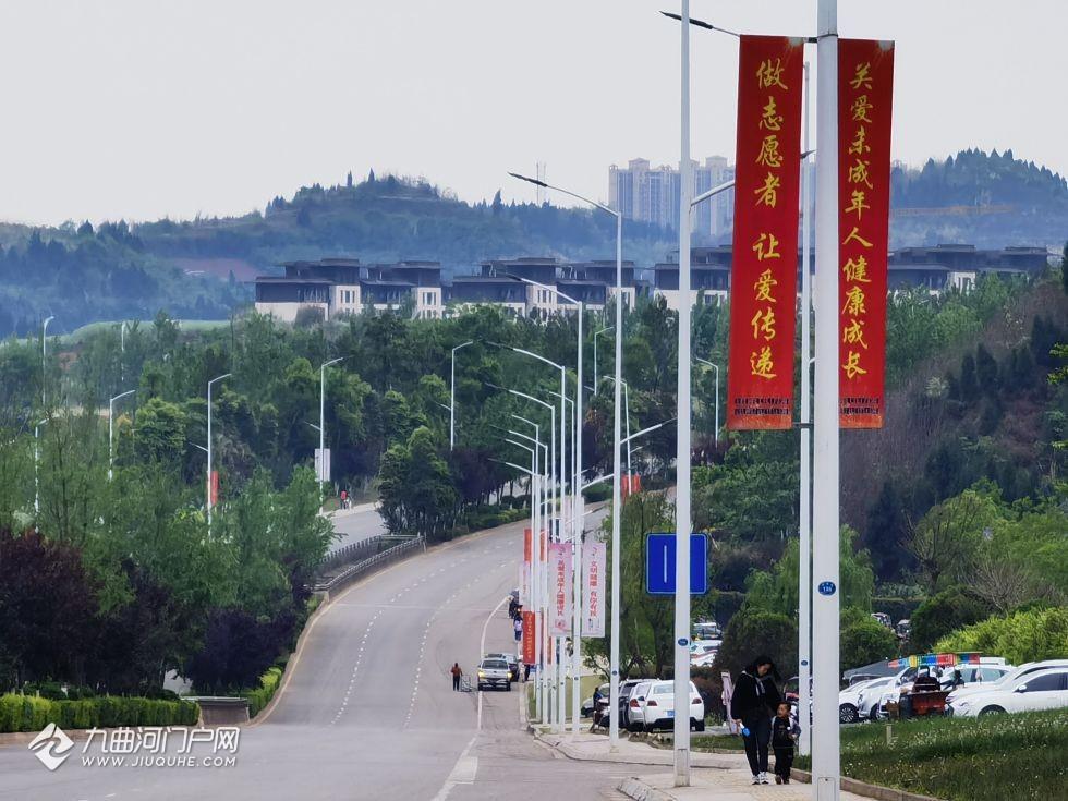 春天里的资阳沱东新区,感觉一年比一年充满生机!