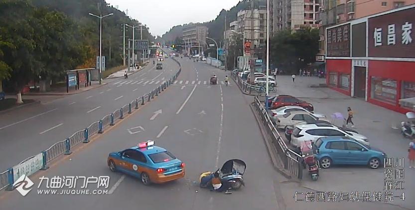 資陽一電動車路口被撞,騎車人受傷嚴重還負主責,原因是......