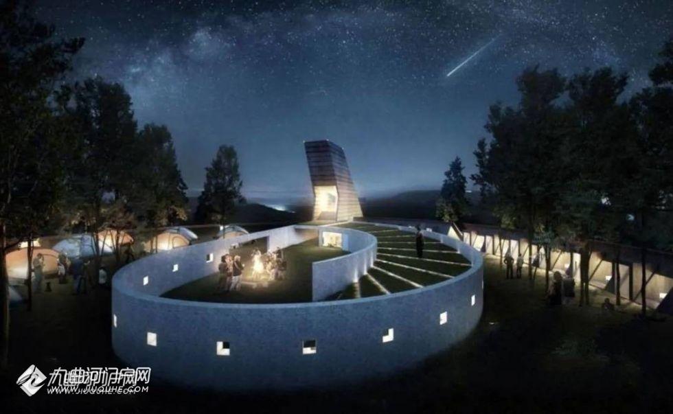 占地3.42亩!资阳临空经济区临江镇仁里村观景塔规划图来了!