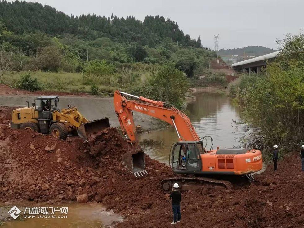 资阳雁溪水利工程(上水库)计划2023年5月底完工,已实现原河道截流!