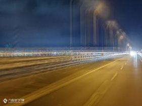 跨海大桥的夜,想回到资阳的心情却愈发浓烈