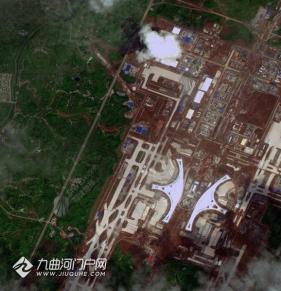 最新卫星地图看天府国际机场