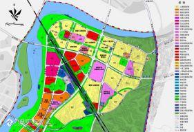 分享資陽城東高鐵片區2021年3月最新土地利用規劃圖!
