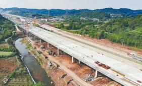 资阳临空经济区建设如火如荼,128万平方米的施工作业面已全面铺开!