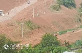 挖掘機上山了,各項工作邁過資陽外環路向科創大道(縱四路)推進