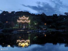 拍了一组资阳凤岭公园剪影,天气好,拍啥都好看!