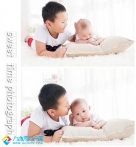 #宝宝成长日记秀#桦桦的100日相册