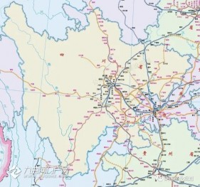 四川省2020-2030年铁路规划图