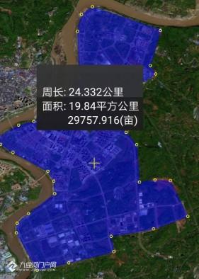 无聊测了一下资阳框架,来看看主城、沱东、临空有多大