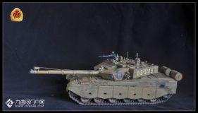 我國自主研發的新一代主戰坦克:99A式坦克