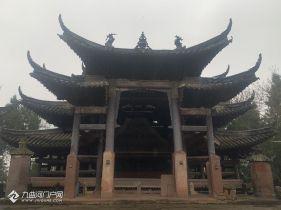 资阳藏着明代罕见古寺庙!除了大门其他全部用石头制成,太精美了
